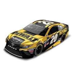 Matt Kenseth Action Racing 2017 #20 DeWalt 1:24 Monster Energy NASCAR Cup Series Autographed Die-Cast Toyota Camry