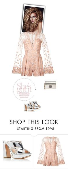 """""""Embellished Rompers"""" by marialibra on Polyvore featuring Nicholas Kirkwood, Zuhair Murad and Jimmy Choo"""