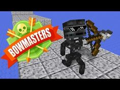 Monster School : BOWMASTERS CHALLENGE - Minecraft Animation - YouTube Sanic Memes, Minecraft School, Monster School, Minecraft Characters, Aphmau, Mini Games, Battle, Lego, Challenges