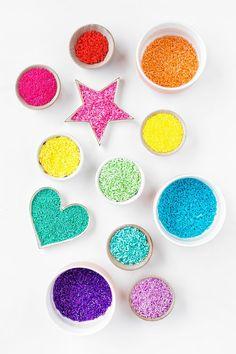 How to Dye Sprinkles
