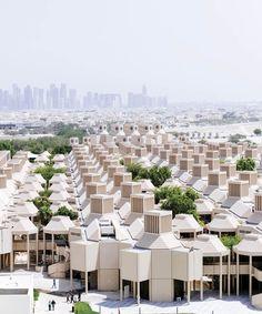 Qatar University in Doha, Qatar © Markus Elblaus