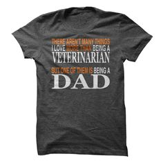Veterinarian Dad T-Shirts, Hoodies. CHECK PRICE ==► https://www.sunfrog.com/LifeStyle/Veterinarian-Dad.html?41382