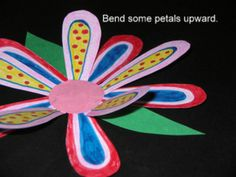 """""""SPRING ON A STRING"""" AND EASY-ART CRAFTIVITY - TeachersPayTeachers.com  Patterns provided for primary level. A fun spring art activity that can be completed easily in the classroom, home school, or art room. It provides a fun project for quiet, independent seat work."""