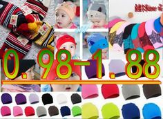 lowest  price  sell at a loss  no humor  we are factory  children beanies baby hats hot sale baby cute caps kid hats