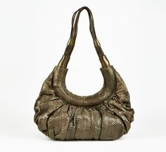 R&Y Augousti Brown Shoulder Bag.