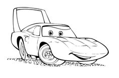 88 Best Coloring In Cars images | Coloring pages, Colouring pages ...