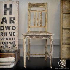 Rustic dining chair by Atelier Autêntico // Cadeira de jantar rústica | Atelier Autêntico