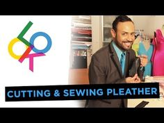 ▶ Cutting and Sewing Pleather: Design School with Nick Verreos - YouTube