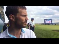 Jamie Dornan - DDF Irish Open Interview #2 - YouTube