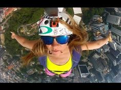 Video: Bird's Eye View with Suz Graham (Not MTB related, but well worth the 2 minutes to watch! Base Jumping, Michael Phelps, Birds Eye View, Mtb, Mountain Biking, Badass, Documentaries, Skiing, Graham