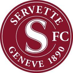 Servette FC Soccer Logo, Football Team Logos, World Football, Sports Logo, Lugano, Switzerland Football, Sports Clubs, Badges, San