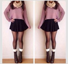 Adorable fall outfit!