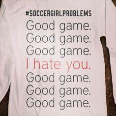 Good Game Good Game  Good Game i Hate You... Good Game  Good Game Good Game #soccerprobz ⚽⚽⚽⚽⚽