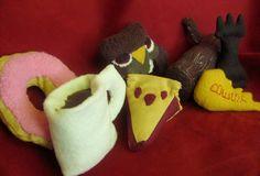 Twin Peaks Themed Handmade Catnip Stuffed Cat Toys on Etsy, $24.00
