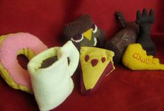 Twin Peaks Themed Catnip Stuffed Cat Toys by MissStitchinWitch