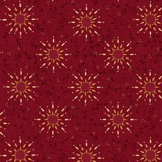 Heritage Hollow Star Vine Red6320-88 RED