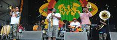Soul Rebels  at Jazz Fest. Photo by Black Mold.