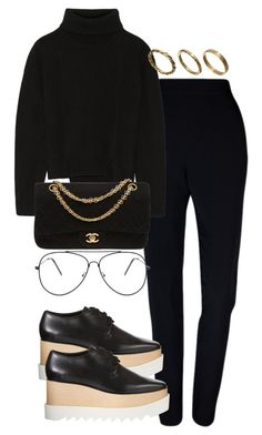 """""""Untitled #2671"""" by theeuropeancloset on Polyvore featuring Plakinger, Proenza Schouler, STELLA McCARTNEY, Chanel and Made"""