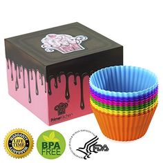 $3 OFF COUPON CODE: LSYQZVEP - MUST HAVE SILICONE BAKING CUPS - PREMIUM QUALITY - FREE DESSERT BOX - FREE RECIPES E-BOOK - EASY TO CLEAN - EASY TO PEAL - BPA FREE & FDA APPROVED - DISHWASHER SAFE - MICROWAVE SAFE - FREEZER SAFE - LIFETIME WARRANTY http://www.amazon.com/Silicone-Baking-Cups-Liners-Nonstick/dp/B00QE4VHA8/ref=sr_1_1053?s=kitchen&ie=UTF8&qid=1425339614&sr=1-1053&keywords=silicone+baking+cups
