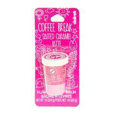Salted Carmel Latte Flavored Coffee Break Lip Balm | Claire's