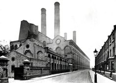 Lots Road Power Station was a power station on the River Thames at Lots Road in Chelsea, London. It supplied electricity to the London Underground system