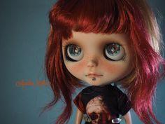 "OOAK Custom Blythe Doll by Another Blythe - ""IGGY"""