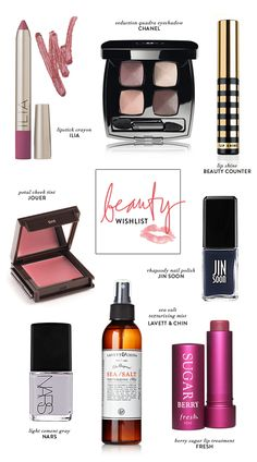 8 beauty items on my wishlist  I have lots of wishes and several wish lists!