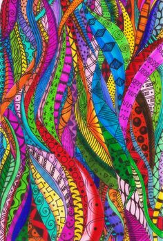 Welcome to the club, Sit down grab a drink and indulge in some delicious sounds! Zentangle Drawings, Zentangle Patterns, Doodle Drawings, Doodle Art, Zentangles, Graphic Wallpaper, Zen Art, Indigenous Art, Aboriginal Art
