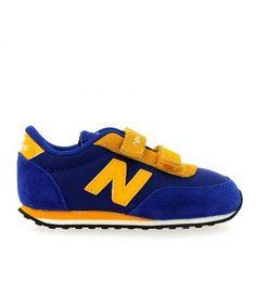 Zapatillas con velcro NEW BALANCE  niños  #Fashion Kids  Descuento del 15%