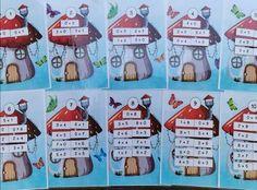 Nombres de 0 à 10 - Mzelle_steffy Holiday Decor, Names
