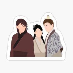 Exo Stickers, Korean Stickers, Printable Stickers, Cute Stickers, Scarlet Heart Ryeo Wallpaper, Moon Lovers Drama, Kdrama, Korean Drama Best, Cute Couple Art