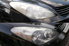 How to Clean Your Car Headlights. It doesn't matter how fast your car is, you can only drive as fast as you can see down the road ahead of you. When the plastic lenses on your headlights get hazy and oxidized, they disperse the light and reduce your visibility. Here's how to clean them.*For more car cleaning ideas, see [Homemade Auto...