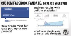 This Deals Custom Facebook Fan Gate Plugin for WordpressYes I can say you are on right site we just collected best shopping store that have