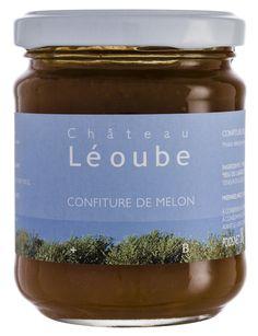 Confiture de melon du domaine de Léoube issue de l'agriculture biologique