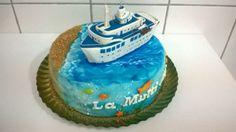 cruise boat cake