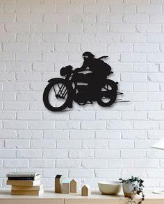 Motorsiklet Metal Plaka - Motorcycle