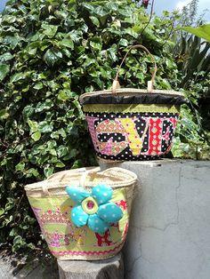 LOVE baskets, handmade by Carolina Bernardo