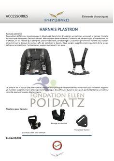 Harnais Plastron, Harnais Universel (St Fargeau) extrait du catalogue Physipro 2015 v3