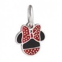 Charm Berloque de Prata de Lei 925 Minnie Disney #MargoBonita #Berloque #Charm #Pingente #Disney