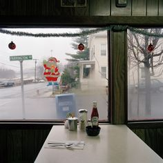 Jeff Brouws   Highway Series Diner Croton-on Hudson New York 1981
