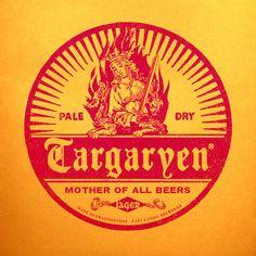 Targaryen Pale Dry Lager Art Print