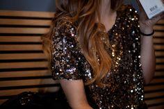 Gold Sequin Crop Top!! Love!!