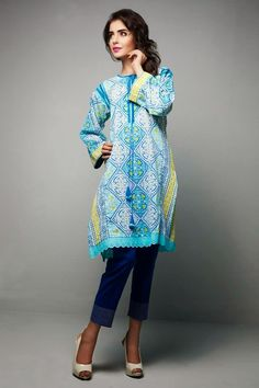 Winter Collection | New Winter Kurtis For Girls By Bonanza 2014-2015