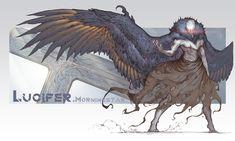 Dark Creatures, Mythical Creatures Art, Fantasy Creatures, Monster Concept Art, Monster Art, Fantasy Monster, Fantasy Character Design, Character Concept, Character Art
