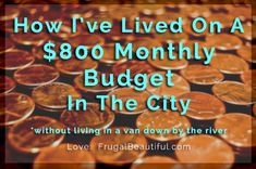 As a broke grad student I had to live on 800 of income a month in Chicagohow did I make it work Ways To Save Money, Money Saving Tips, Saving Ideas, Money Tips, Living On A Budget, Frugal Living, Another A, Monthly Budget, Budgeting Finances