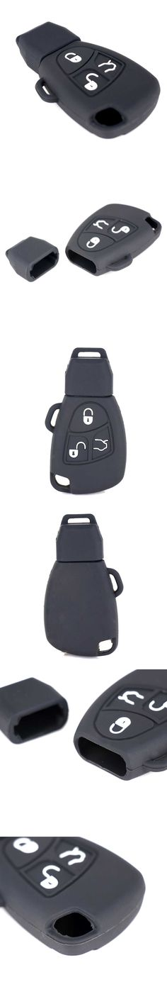 3 Colors 3/4 Buttons Car Key Cover Case For Benz For Mercedes C E R CL CLK Case Remote Smart Key Cover Holder Refit Cover Shell