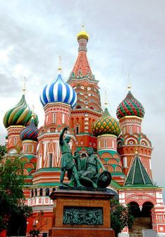 St. Basil's Cathedral, Russia My homeland <3 Cant wait to visit again!