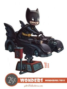 Geeky Characters as Kids on Kiddy Rides Fan Art http://geekxgirls.com/article.php?ID=3152