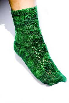 Dayflower Sock knitting pattern- available on Ravelry and my blog!