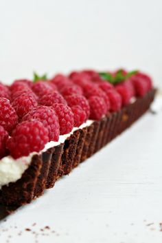 coconut raspberries tart